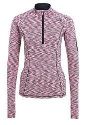 Cmp F.Lli Campagnolo Trail Long Sleeved Top Nero Pink Fluo Black