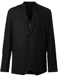Christophe Lemaire Double Button Jacket Black