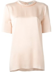 Lanvin Crew Neck Blouse Pink And Purple