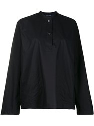 Sofie D'hoore Oversized Placket Shirt Black