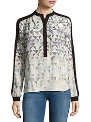 Bcbgmaxazria Multi Direction Triangle Top Silver Dove