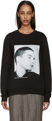 Raf Simons Black Isolated Heroes Pullover