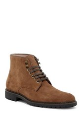 Rush By Gordon Rush Lace Up Suede Workboot Red