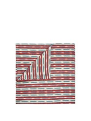 D'ascoli Samarkand Cotton And Linen Napkin Set Red Multi