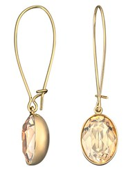 Swarovski Puzzle Gold Plated Crystal Earrings