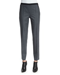 Elie Tahari Karis Stretch Flannel Slim Pants