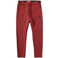 Nike Tech Fleece Cropped Pant Red