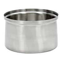 Serax Xl Brushed Steel Ice Bucket Silver