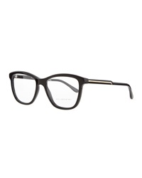 Stella Mccartney Square Acetate Fashion Glasses Black
