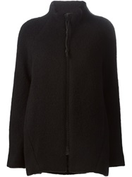 Gianluca Capannolo Large Zip Jacket Black