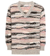 See By Chloe Alpaca And Mohair Blend Sweater Multicoloured