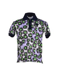 Prada Topwear Polo Shirts Men Purple