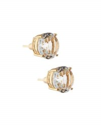 Emily And Ashley Round Crystal Stud Earrings Clear