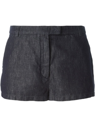 Douuod Denim Shorts Blue