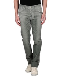 Heavy Project Denim Pants Grey