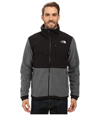 The North Face Denali 2 Jacket Recycled Charcoal Grey Heather Tnf Black Men's Coat
