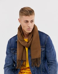 New Look Scarf In Camel Brown