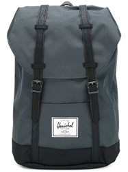 Herschel Supply Co. Double Strap Backpack Blue