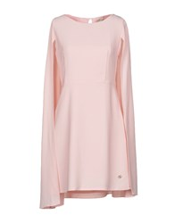 Cuple Short Dresses Light Pink