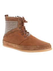 Volta Woolen Boot Brown