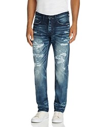 Prps Goods And Co. Demon Technics Slim Fit Jeans In Indigo