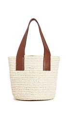 Sensi Studio Medium Tote Bag Natural Cognac