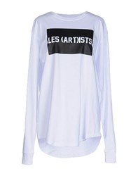 Les Art Ists Topwear T Shirts Women White