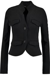 James Perse Cotton Jersey Blazer Black