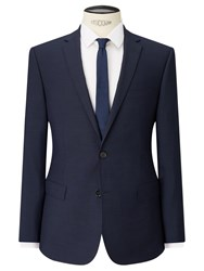 John Lewis Kin By Miller Pindot Tailored Suit Jacket Navy