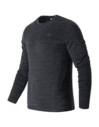 New Balance M4m Seamless Long Sleeve Top Grey