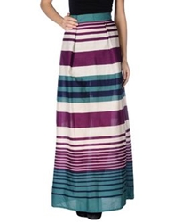 Mary Jane Long Skirts Mauve