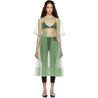 Molly Goddard Green Blessing Dress