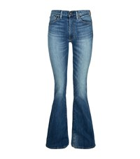 Denim And Supply Ralph Lauren High Rise Flare Jeans Female Blue