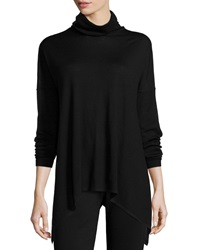 Eileen Fisher Long Merino Turtleneck Top Petite