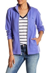 Tommy Bahama Aruba Full Zip Sweatshirt Purple