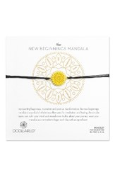 Dogeared Women's The New Beginnings Mandala Bracelet Gold