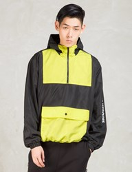 Hero's Heroine Black Yellow Windbreaker