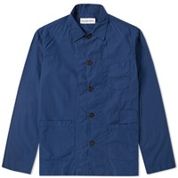 Universal Works Baker Overshirt Blue