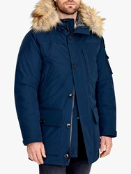 J.Crew Nor Parka Coat Navy