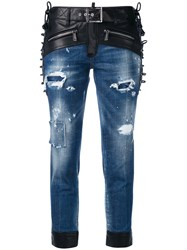 Dsquared2 Glam Head Jeans Blue