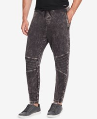 William Rast Men's Lewis Relaxed Fit Joggers Heather Grey