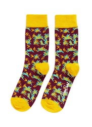 Happy Socks 'Aloha' Floral Multi Colour
