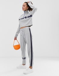 Juicy Couture By Cuffed Joggers With Ankle Logo Co Grey
