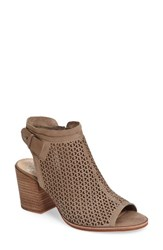Vince Camuto Women's Lidie Cutout Bootie Sandal Smoke Show Leather
