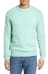 Vineyard Vines Men's Wool And Cashmere Cable Knit Sweater