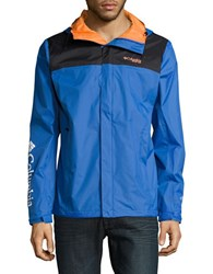 Columbia Pfg Storm Waterproof Jacket Vivid Blue