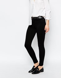 Warehouse Second Skin Skinny Jeans Black