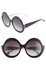 Alice Olivia Women's Stacey 56Mm Round Gradient Lens Sunglasses