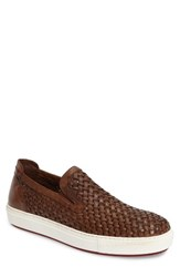 Donald J Pliner Men's Clark Slip On Brown