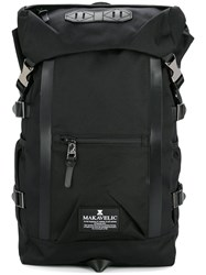 Makavelic Double Line Backpack Polyester Black